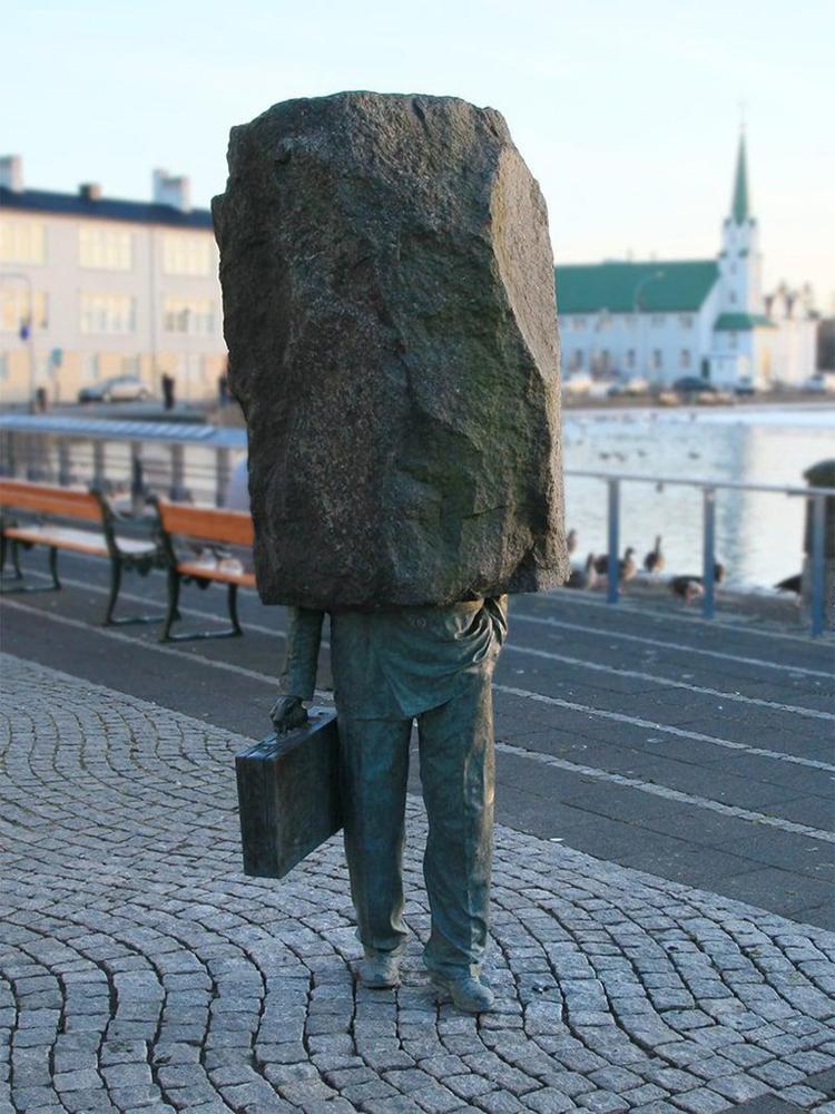 El desconocido oficial-Reikiavik-Islandia