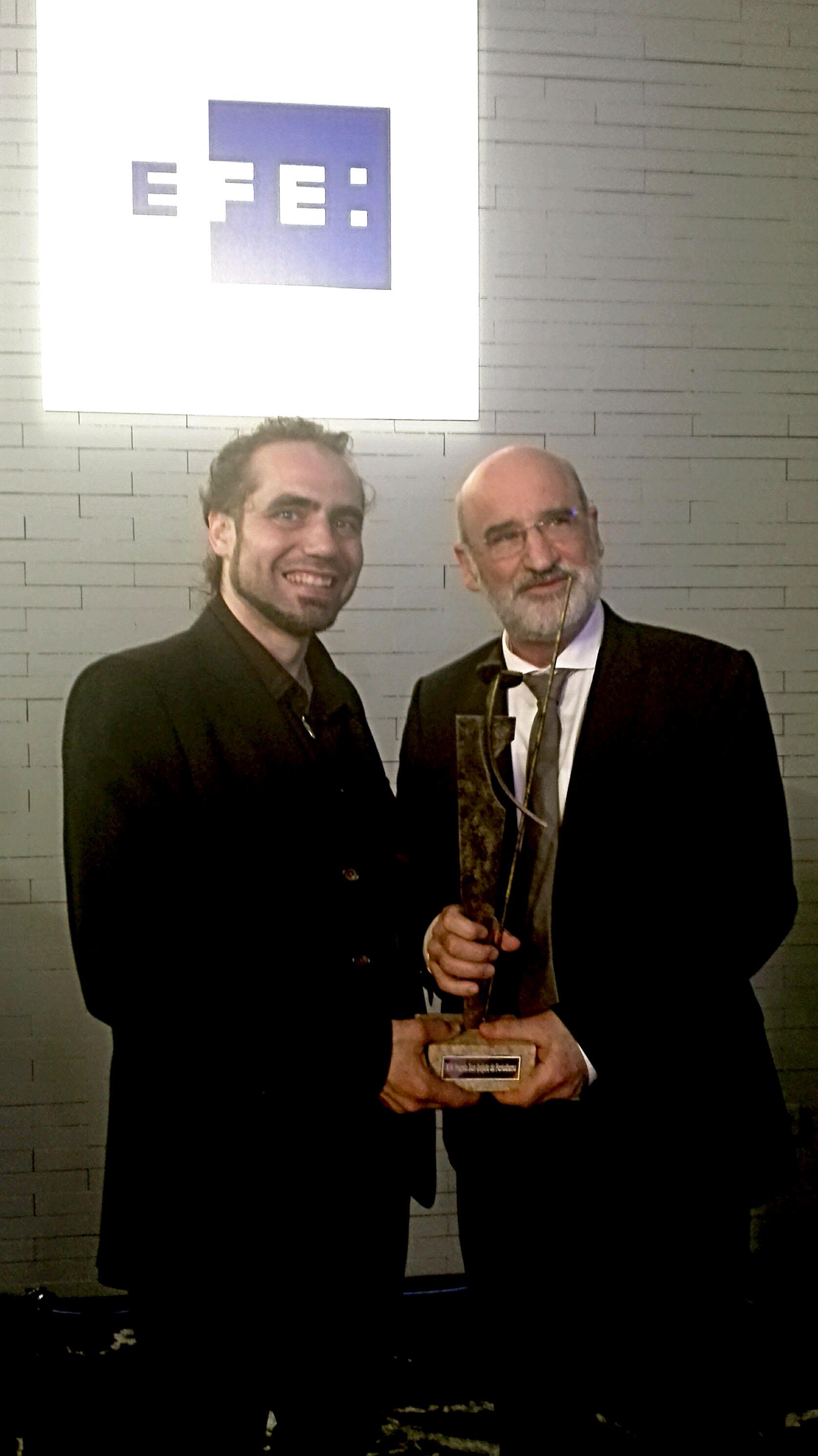 Xema Teno y Fernando Aramburu-efe