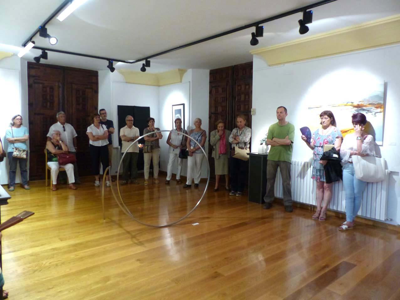 Inauguración exposición XX Certamen de Arte José Lapayese Bruna