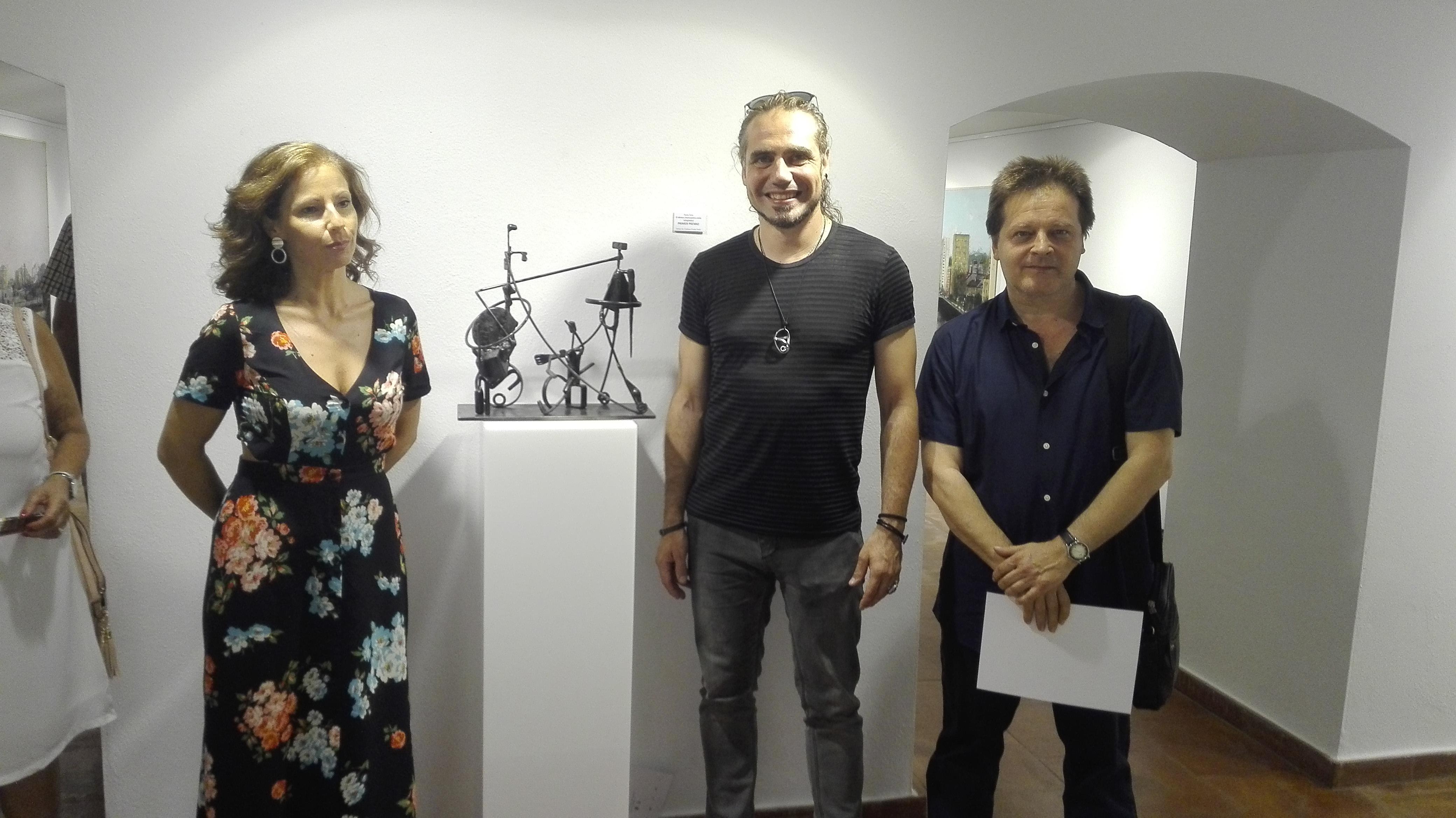 """Entrega del Primer Premio de la XVI Bienal de Escultura """"Peña de Martos"""""""