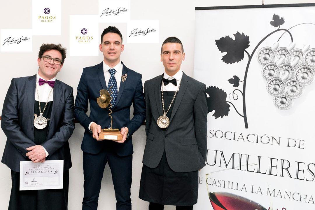 Finalistas de VI Concurso de Sumilleres de Castilla la Mancha