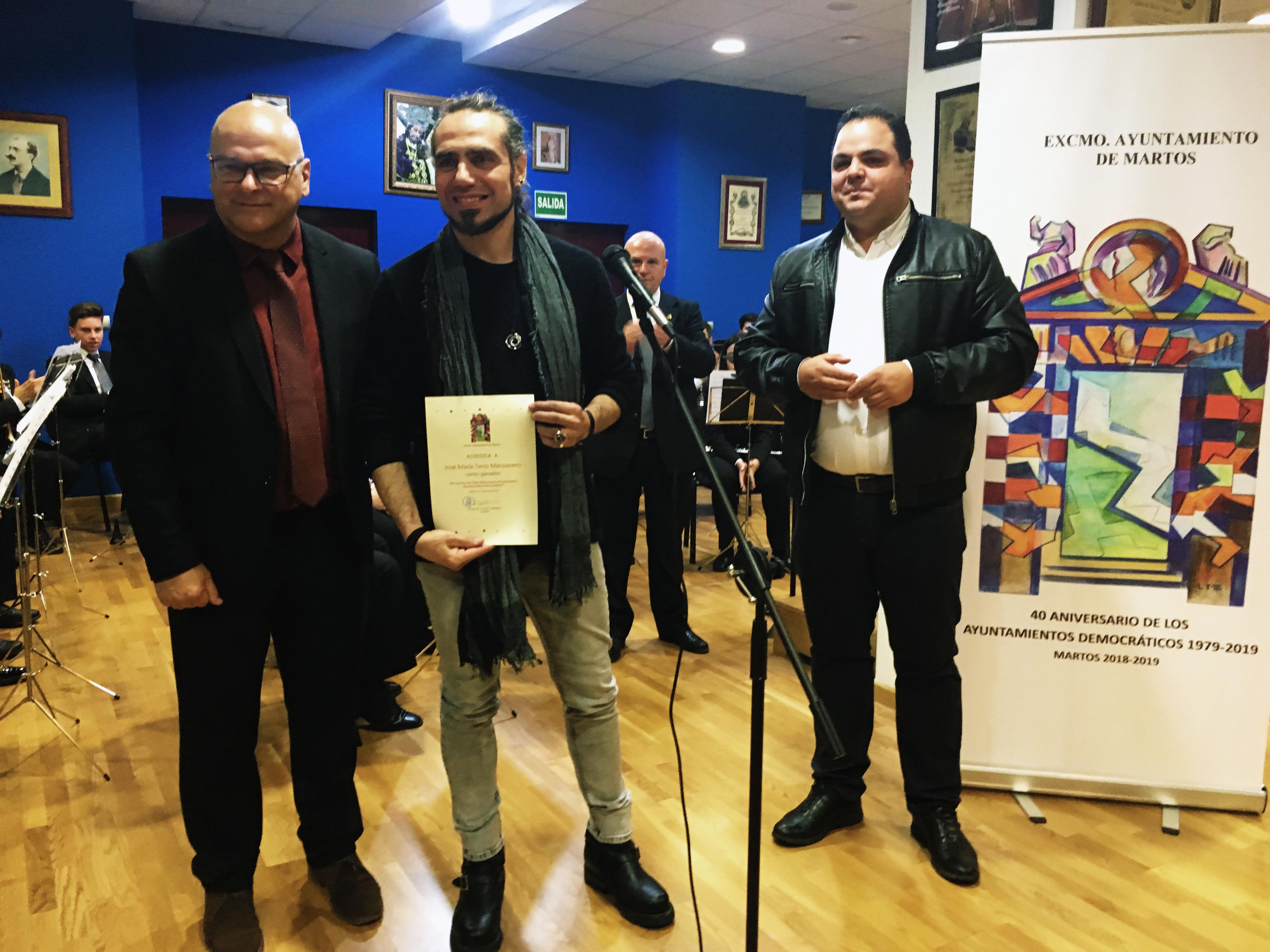 El Escultor Criptanense Xema Teno, Premio del Concurso de Ideas para el Monumento al 40 Aniversario de los Primeros Ayuntamientos Democráticos